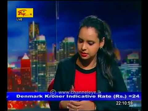 First Capital's Dimantha Mathew with the Market Review on Channel Eye Business Today - 2017.10.04