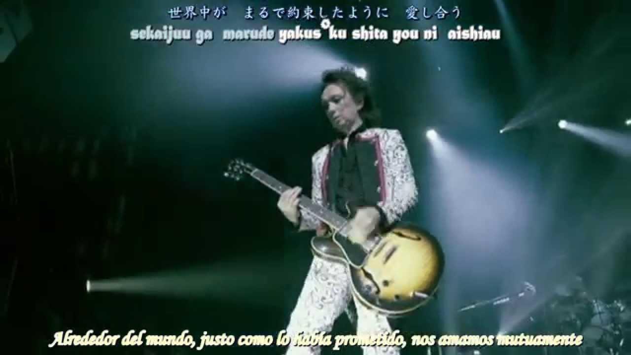 Buck Tick Once Upon A Time Live Subtitulos En Español Youtube