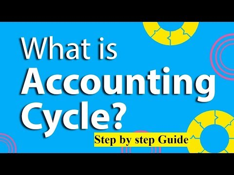 The Accounting Cycle | Step by Step Guide | Urdu Lecture