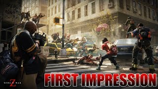 World War Z with Drift0r, TMartn, and Chaos // Live Stream // First Impression // PS4 Gameplay