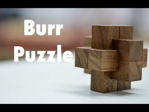 Woodworking project – Burr puzzle