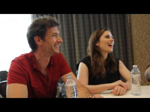 Comic Con: MARVEL'S AGENT CARTER: James D'Arcy & Hayley Atwell (2015)