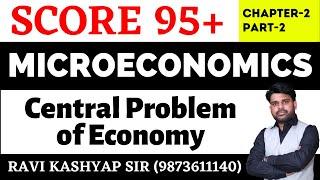 Central Problem of Economy class12,[Part-2] MicroEconomics