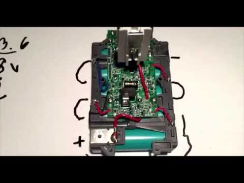 How to charge A DEAD 18V Lithium Battery Pack!