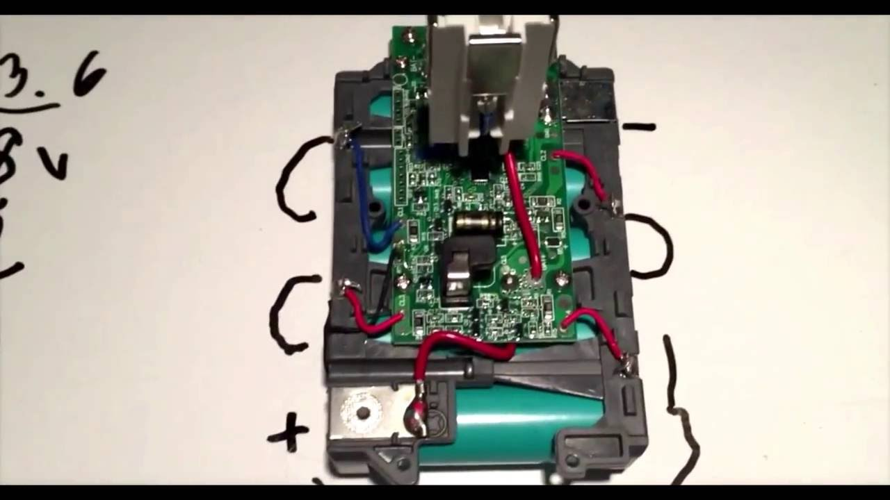 How To Charge A Dead 18v Lithium Battery Pack