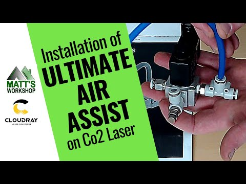 Ultimate Air Assist Upgrade for Co2 Laser RUIDA 644X Controllers - CNC Co2 Laser Machine