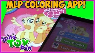 My Little Pony Paper To Digital Coloring Book App From Painting Lulu