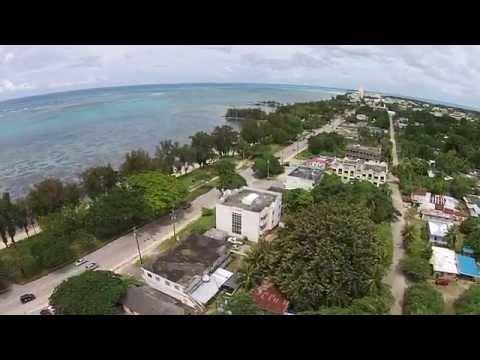"SAIPAN - "" Garapan beach road "" - Northern mariana Island, U.S.A. -  ROGER"