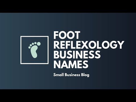 Catchy Foot Reflexology Business Names