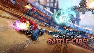 Supersonic Acrobatic Rocket-Powered Battle-Cars [SHOWCASE]