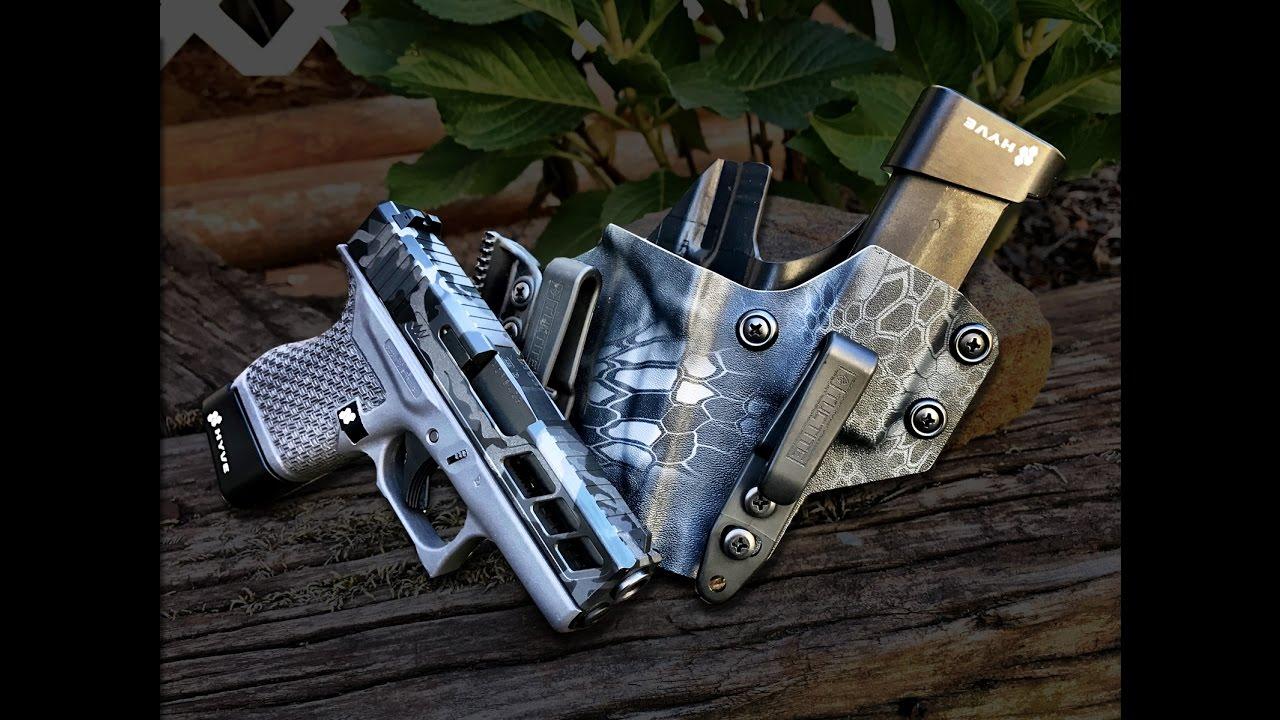 Custom Glock 43 - Tuctite Appendix Holster