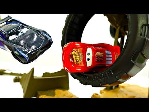МОЛНИЯ #МАКВИН против ДЖЕКСОН ШТОРМ на городской трассе!🌆 ГОНКИ #Тачки Мультфильм / Игры для Детей