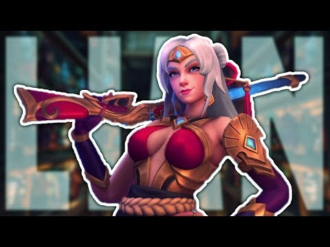 Lian Is Here! She's Awesome! | Paladins Lian Gameplay & Build