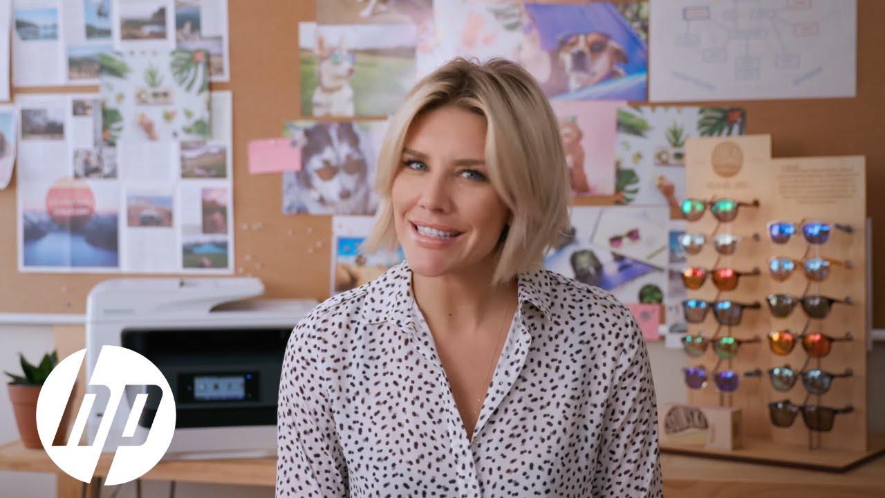 Meet The Intern: Charissa Thompson at Sunski   HP OfficeJet Pro   HP