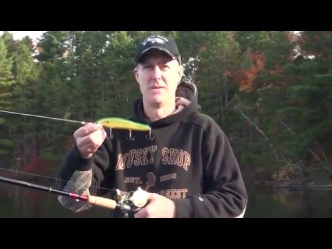 Crane 207 with Jay from the Musky Shop