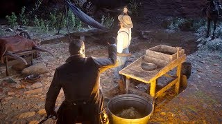 Steal a Gold Nugget from a Gold Prospector in Red Dead Redemption 2