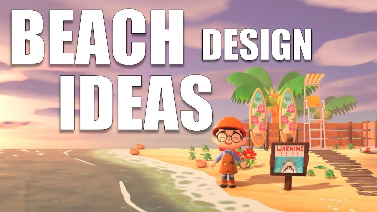 CUTE Beach Design Ideas For YOUR Island | Animal Crossing ...