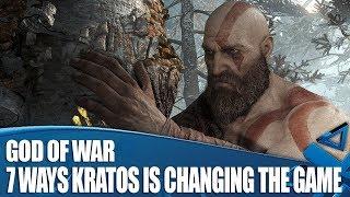 God Of War Gameplay - 7 Ways Kratos