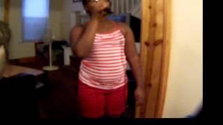 2012 08 10    Kayla singing Jamia Nash