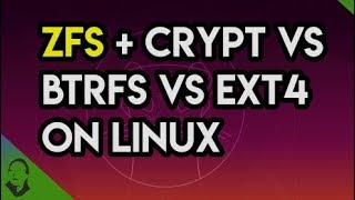 🔴 ZFS vs btrfs vs ext4 with encryption on Linux Ubuntu 19.10 benchmark