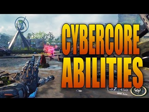 Black Ops 3: CYBERCORE ABILITIES! Firefly Storm, Vomit Attack, and more!