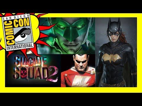 Comic Con: Batgirl, Linterna Verde, Flashpoint y más estrenos de DC