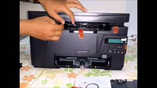 HP LaserJet Pro MFP M126nw wifi printer Unboxing and How to use?? (English)