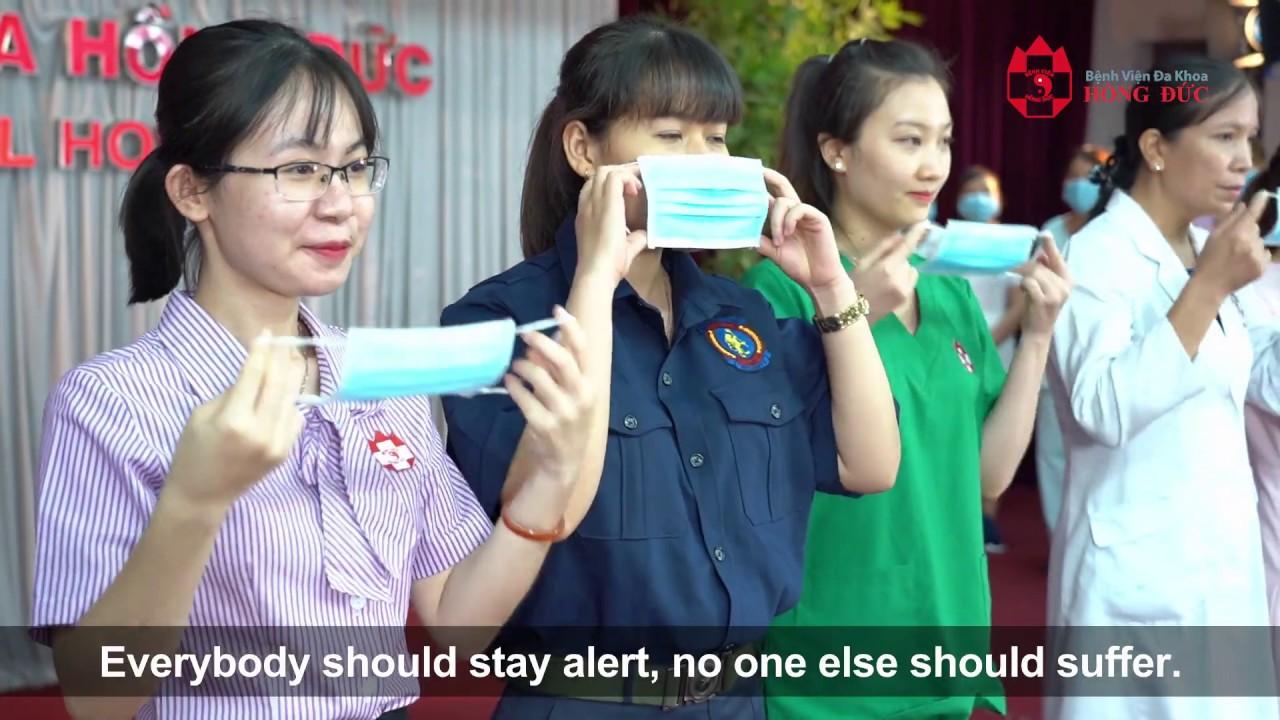 Ghen Covy Bệnh Viện Đa Khoa Hồng Đức – Cover | WASHING HAND SONG | English Subtitle.