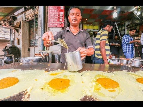 Indian Street Food Tour in Chennai, India | Street Food in I