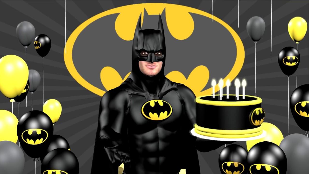 batman birthday Batman says Happy Birthday to you with ASL   YouTube batman birthday