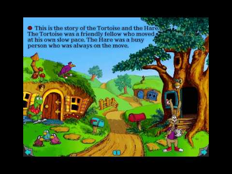 Living Books - The Tortoise and the Hare - YouTube