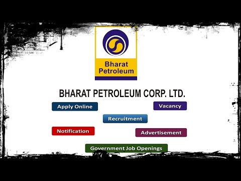 Bharat Petroleum Corporation Limited (BPCL) Recruitment Apply Online Notifications Careers Vacancy