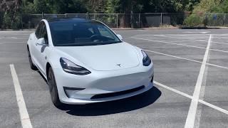 1000 Mile Road Trip Tesla Model 3 Standard Range Plus