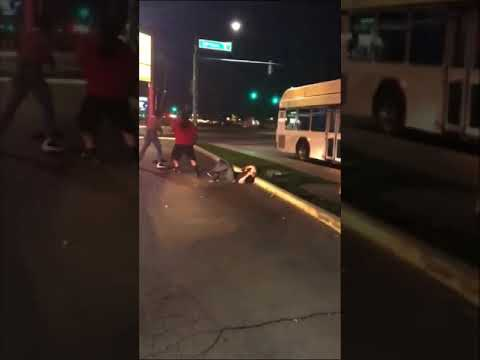 Fight in parking lot at Phoenix Restauant