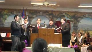 himno Bautista,cantado por jovenes...