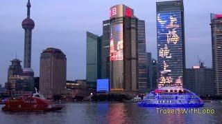 Shanghai - Pudong - Night Skyline - World