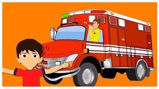 Au Feu Les Pompiers La Maison Qui Brule | Comptines françaises  | French nursery rhymes thumbnail