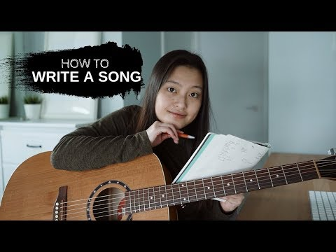 how to write a song my tips + tricks
