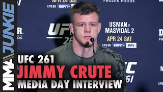 Jimmy Crute plans on 'mauling' Anthony Smith | UFC 261 media day