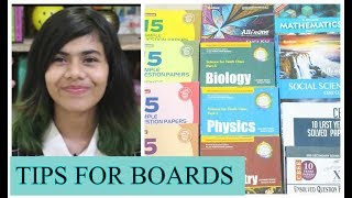 TIPS TO STUDY FOR BOARDS + BOOK RECOMMENDATIONS FOR CLASS 10 | Lavanya Lifestyle
