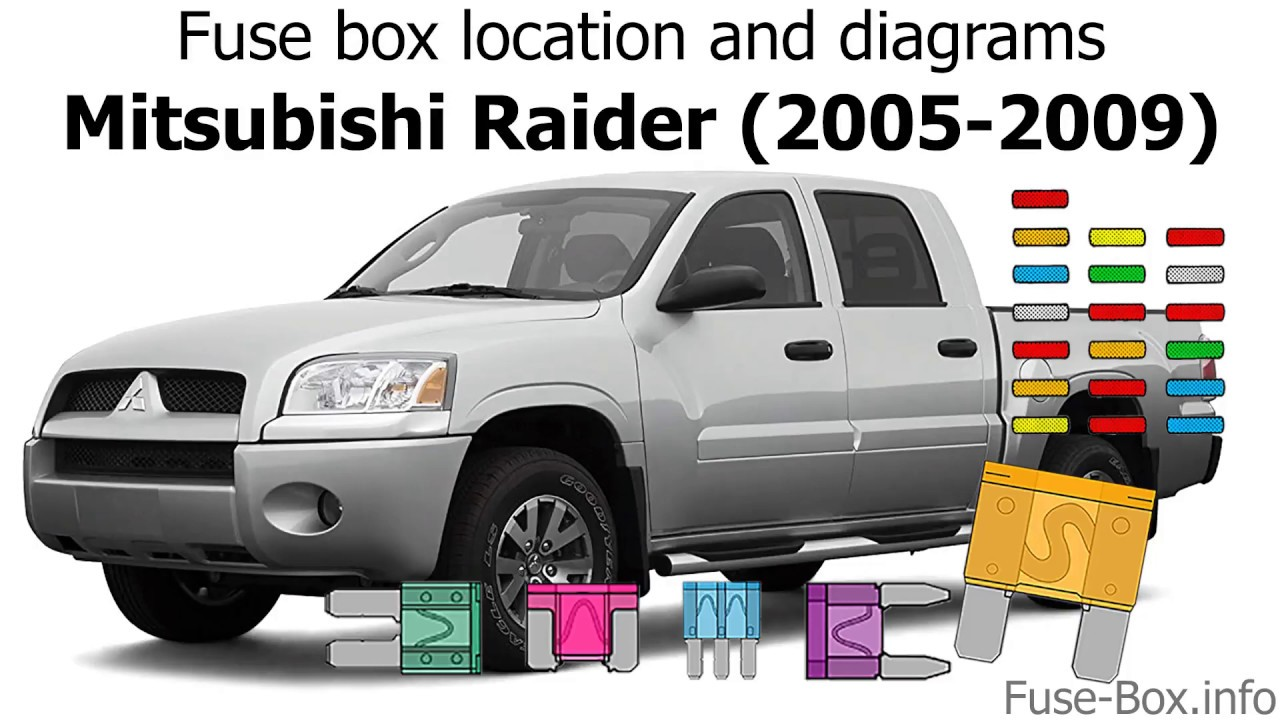 2006 Mitsubishi Endeavor Fuse Box Diagram
