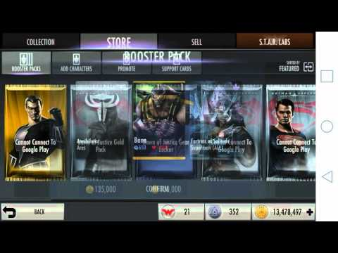 Injustice - DO NOT BUY THE DAWN OF JUSTICE PACK |