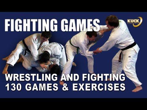 130 Training Games for Judo, Ju-Jutsu & Karate  / Fighting Games