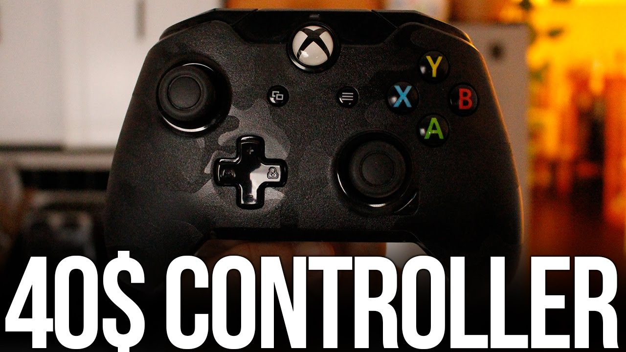 40$ Xbox Controller - PDP Wired Xbox One Controller Camo Review ...