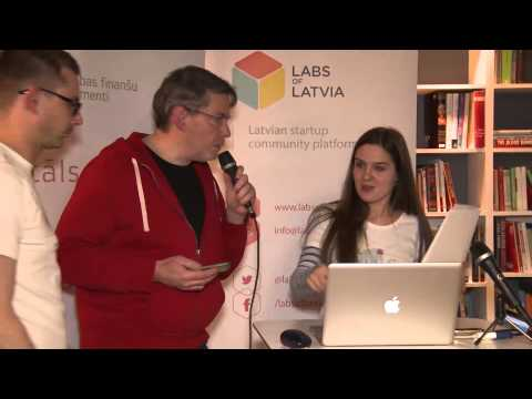 Labs Of Latvia Ignition event: Opportunity pitches