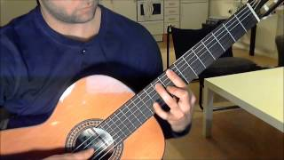 Main Theme - The Last of Us on Guitar