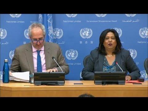 Sexual Violence in Iraq and Republic of Sudan - Press Conference (9 March 2018)