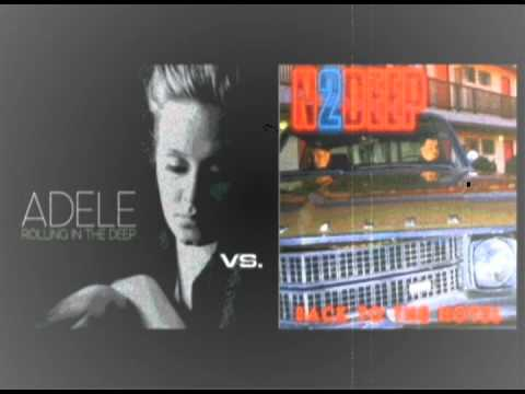 Adele rolling in the deep -vs- N2Deep back to the hotel