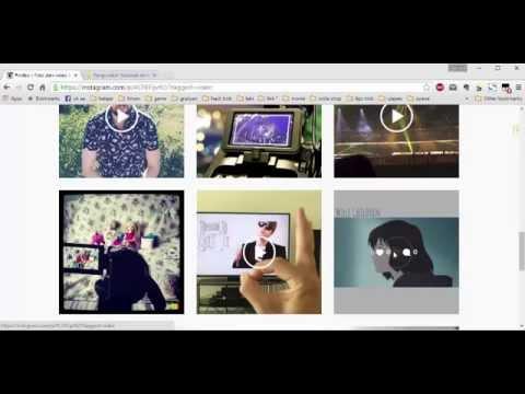 cara download gambar dan video di instagram dengan laptop atau pc