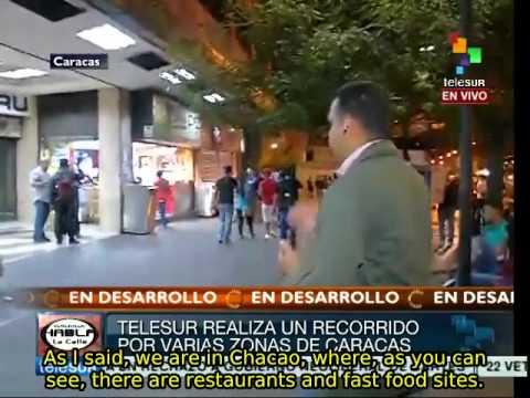 Venezuela: Restaurants operating normally in Caracas